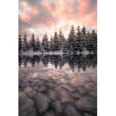 Melting lake